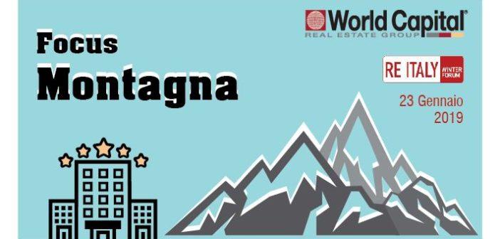 World Capital a RE Italy 2019 con il nuovo Report Hotel – Focus Montagna