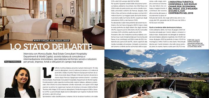 Lo stato dell'arte – Hotel Domani intervista Monica Badin di World Capital