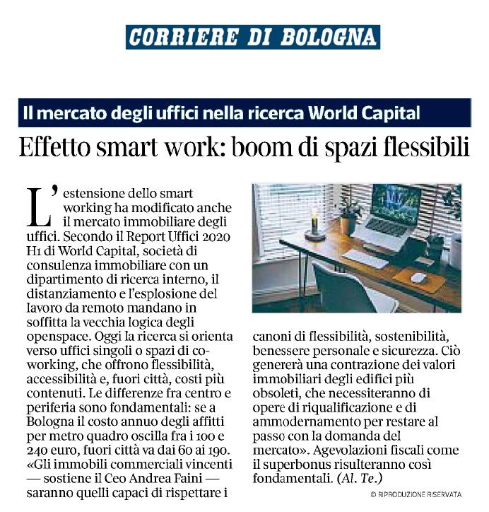 Effetto smart work: boom di spazi flessibili - Rassegna ...